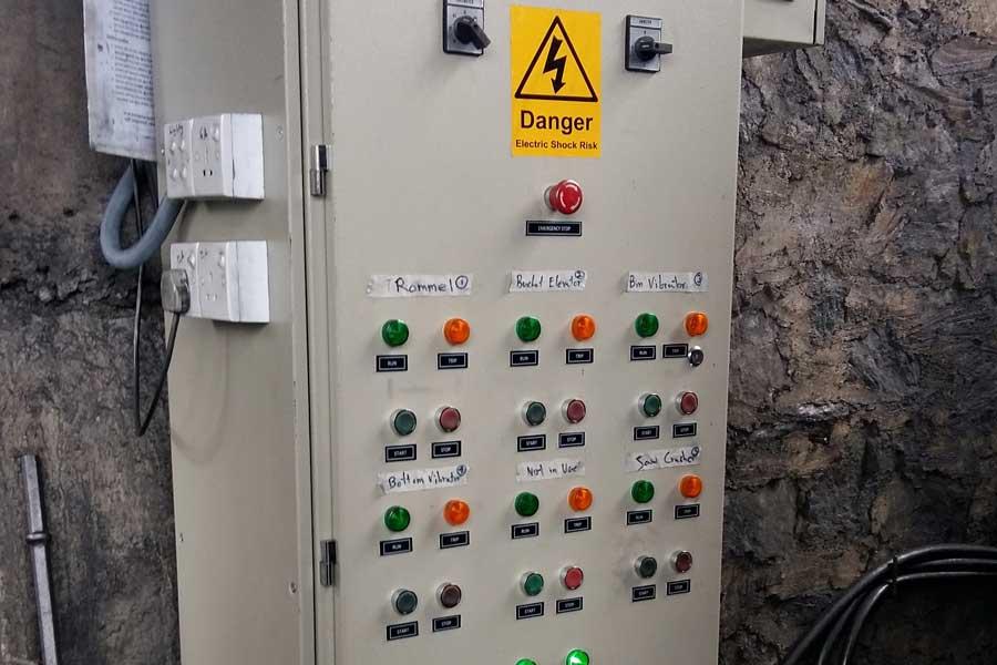 نمونه تابلو برق